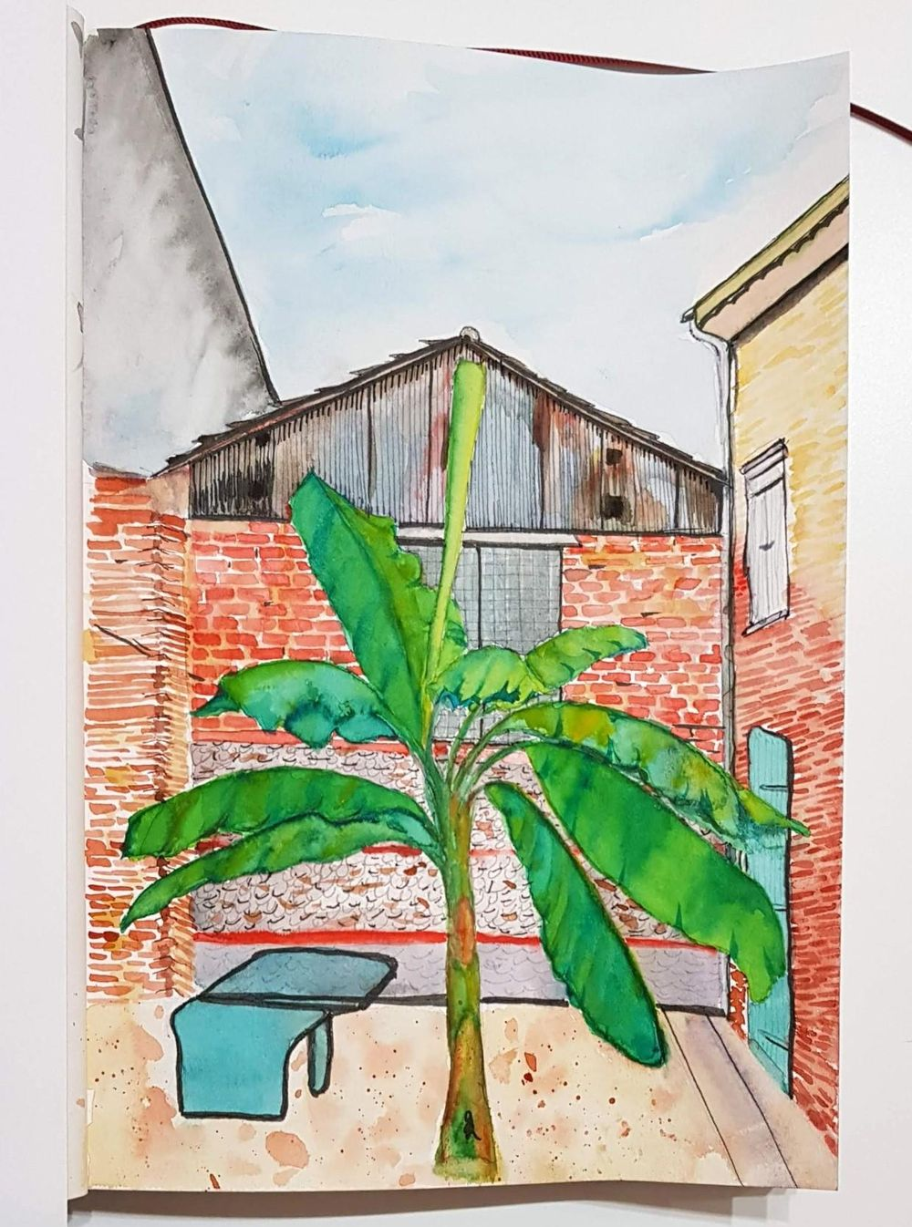 Courtyard in Toulouse - image 1 - student project