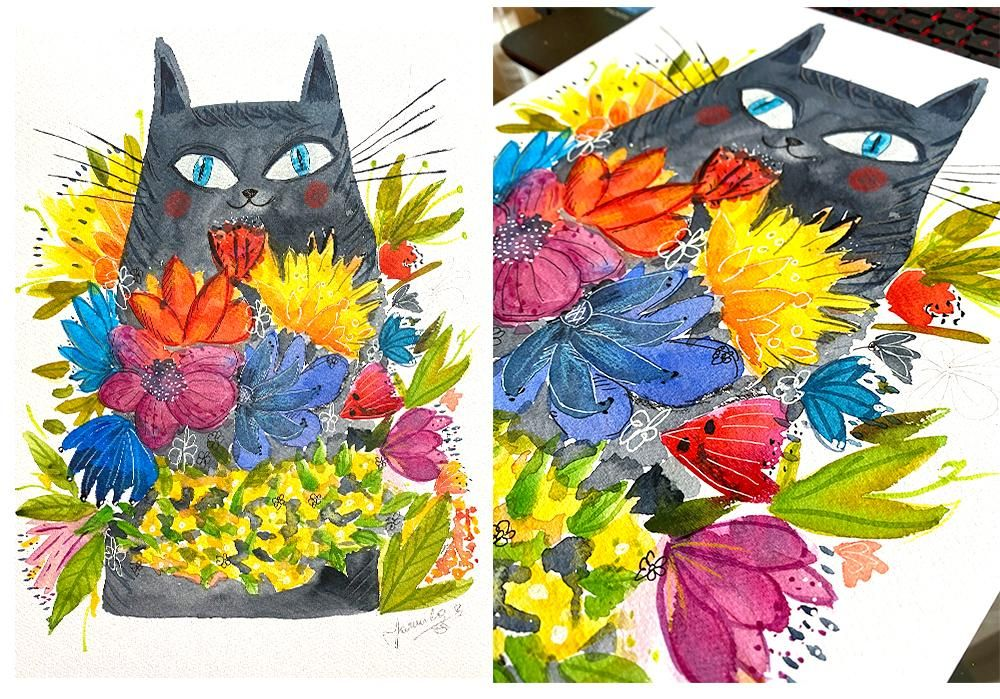 Perfectly Imperfect Watercolor - image 3 - student project