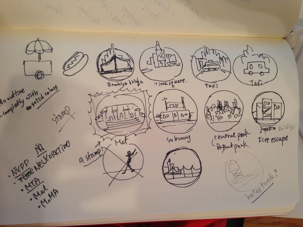 NewYork Badges  - image 2 - student project