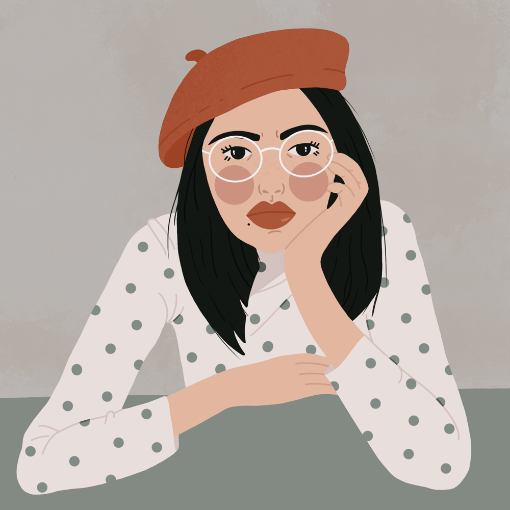 Glasses girl - image 1 - student project