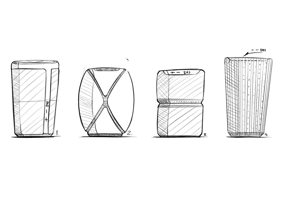 Waterproof Bluetooth Speaker Concept - image 2 - student project