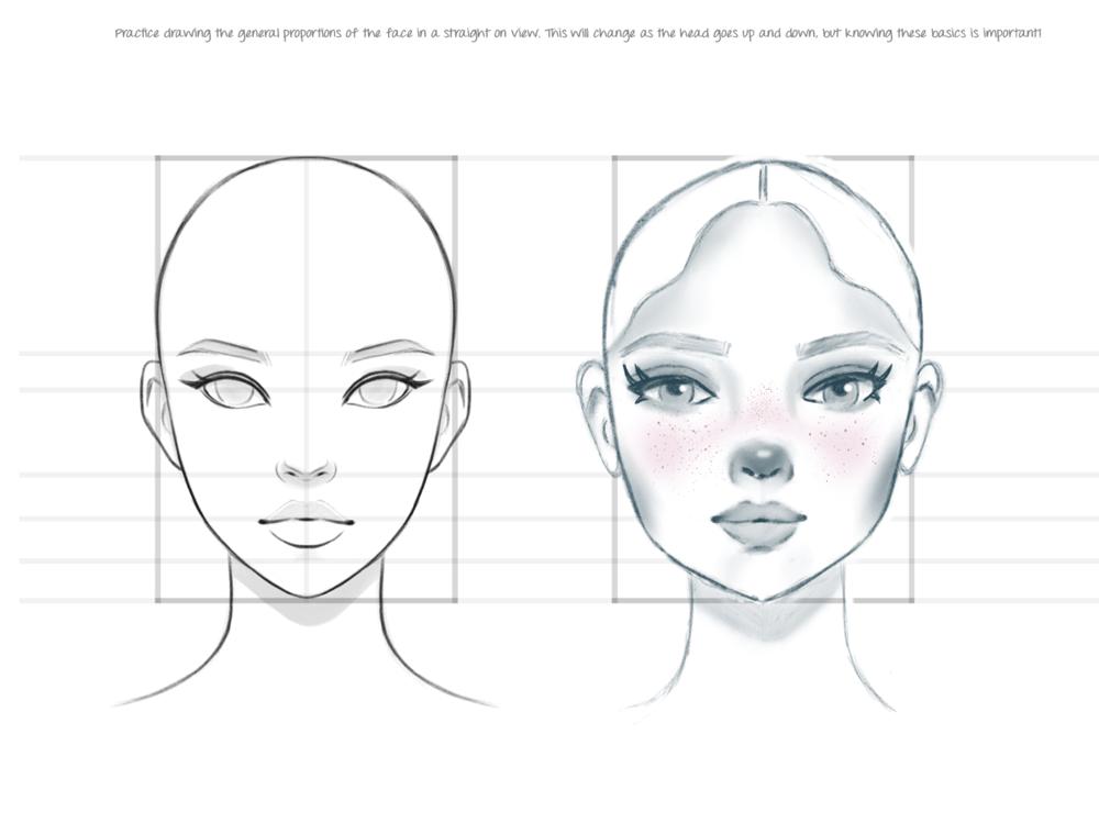 Female Portrait in Procreate - image 6 - student project