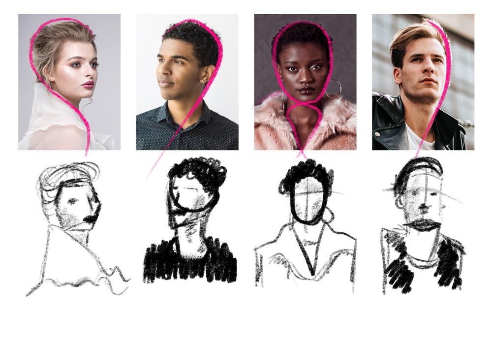 Drawing and Painting Portraits - image 18 - student project