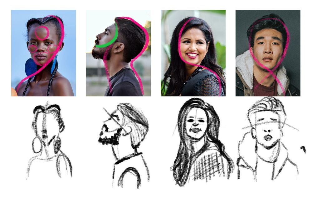 Drawing and Painting Portraits - image 17 - student project