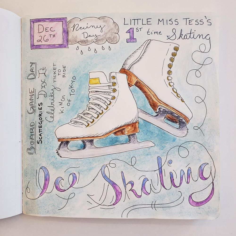 Draw Your Day - Amsterdam Trip & Some daily pages (updated) - image 18 - student project