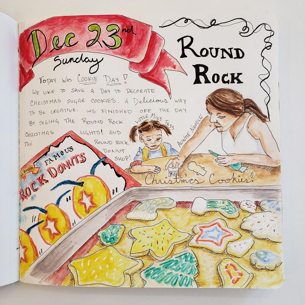Draw Your Day - Amsterdam Trip & Some daily pages (updated) - image 15 - student project