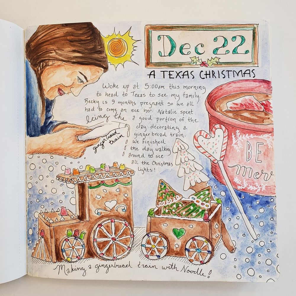 Draw Your Day - Amsterdam Trip & Some daily pages (updated) - image 14 - student project