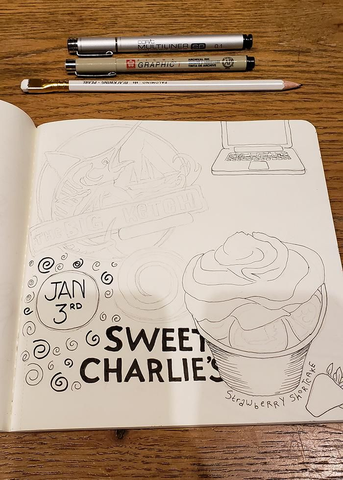 Draw Your Day - Amsterdam Trip & Some daily pages (updated) - image 11 - student project