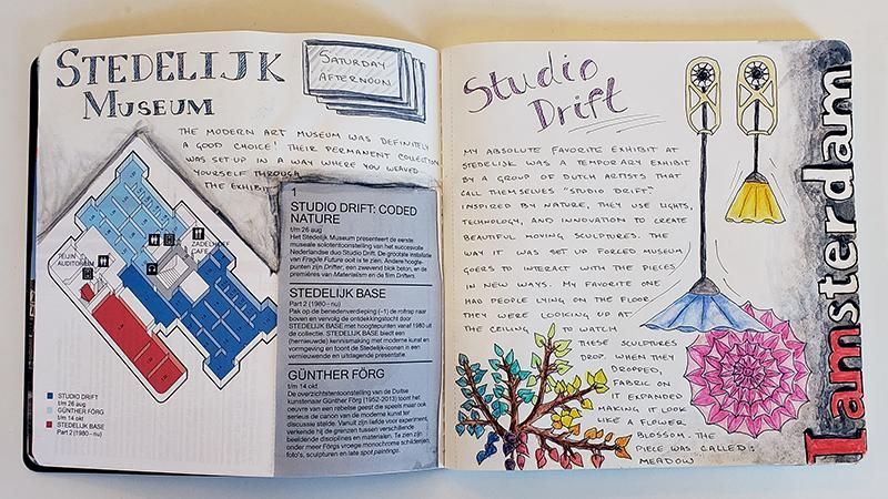 Draw Your Day - Amsterdam Trip & Some daily pages (updated) - image 7 - student project