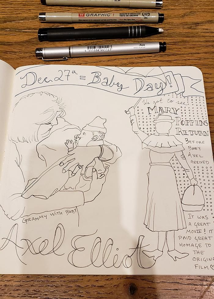 Draw Your Day - Amsterdam Trip & Some daily pages (updated) - image 12 - student project