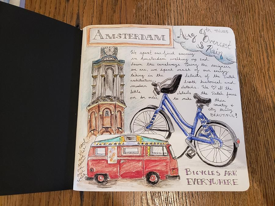 Draw Your Day - Amsterdam Trip & Some daily pages (updated) - image 3 - student project