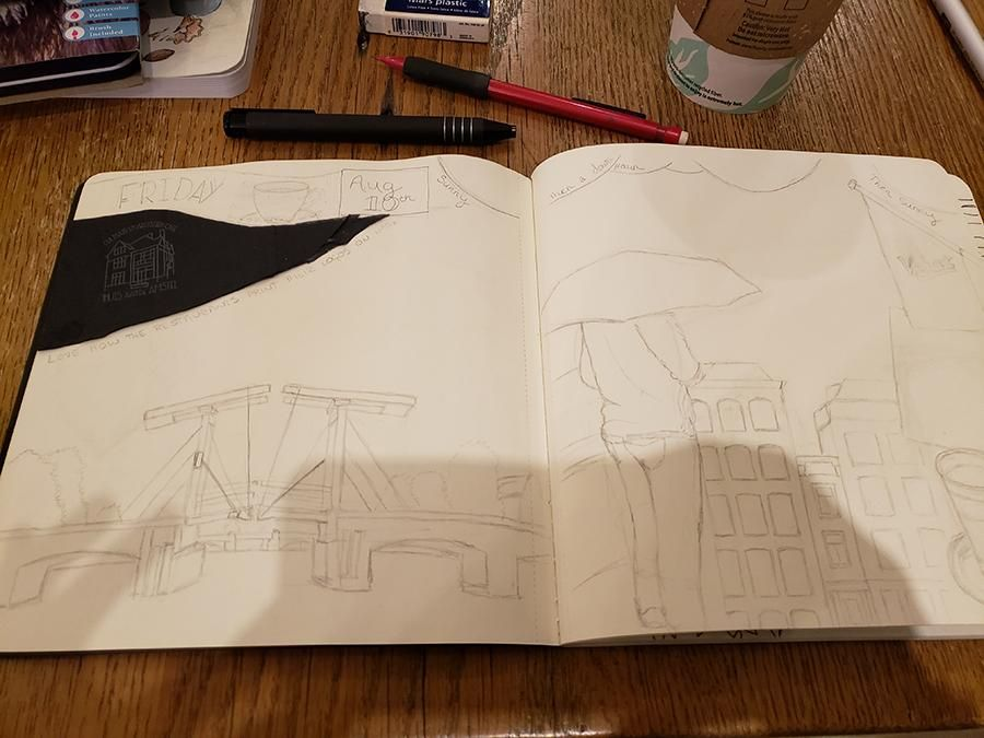 Draw Your Day - Amsterdam Trip & Some daily pages (updated) - image 2 - student project