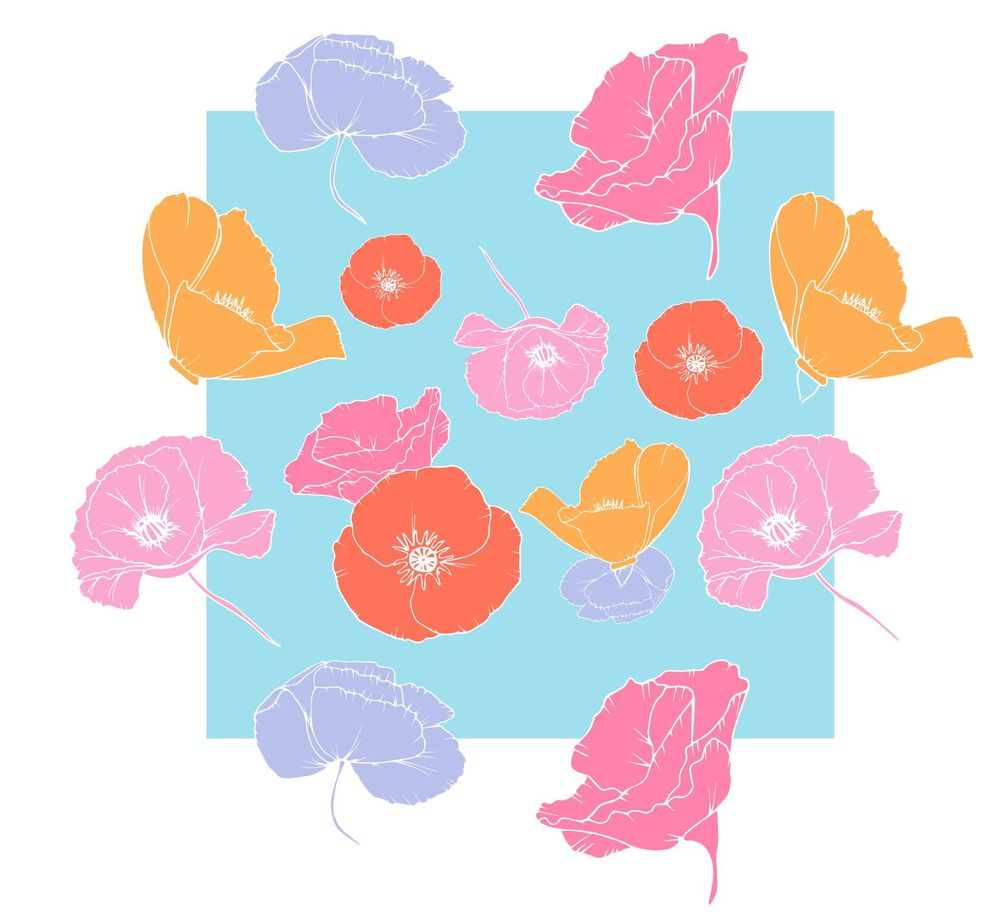 Pattern Design: Make a Pattern in Illustrator and get it ready for clients - image 2 - student project