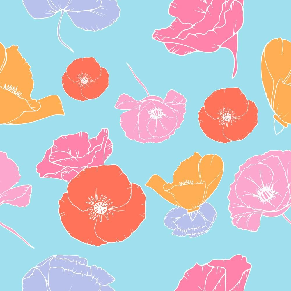 Pattern Design: Make a Pattern in Illustrator and get it ready for clients - image 3 - student project