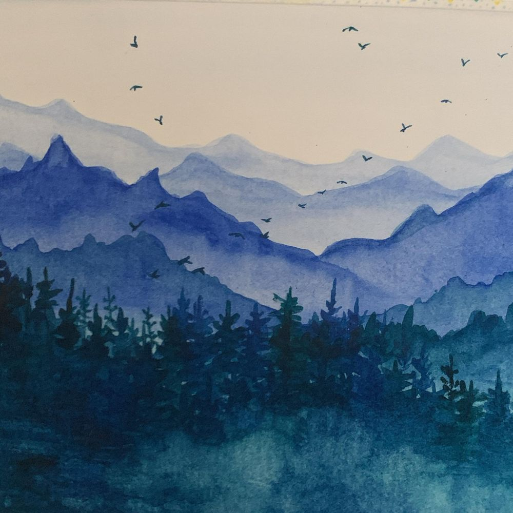 Misty pines 1 - image 1 - student project