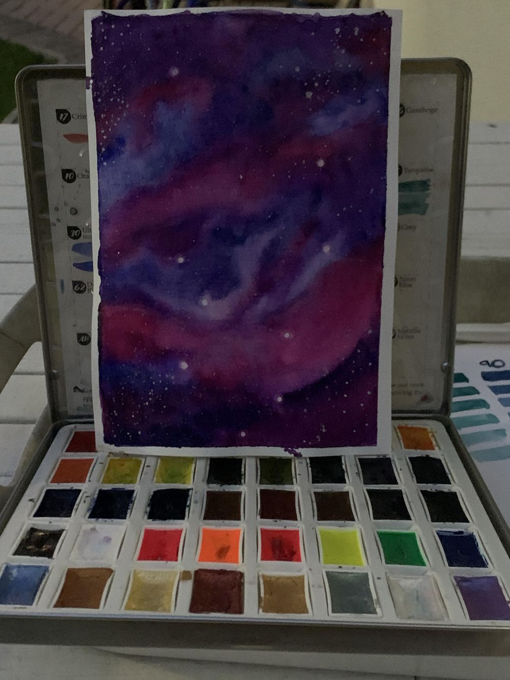 Galaxy 1 - image 1 - student project