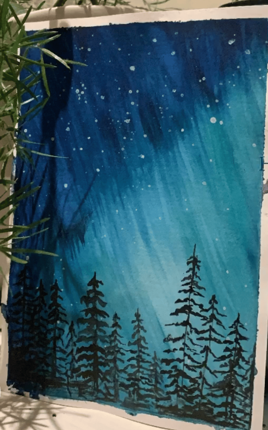 Northern lights 2 - image 2 - student project