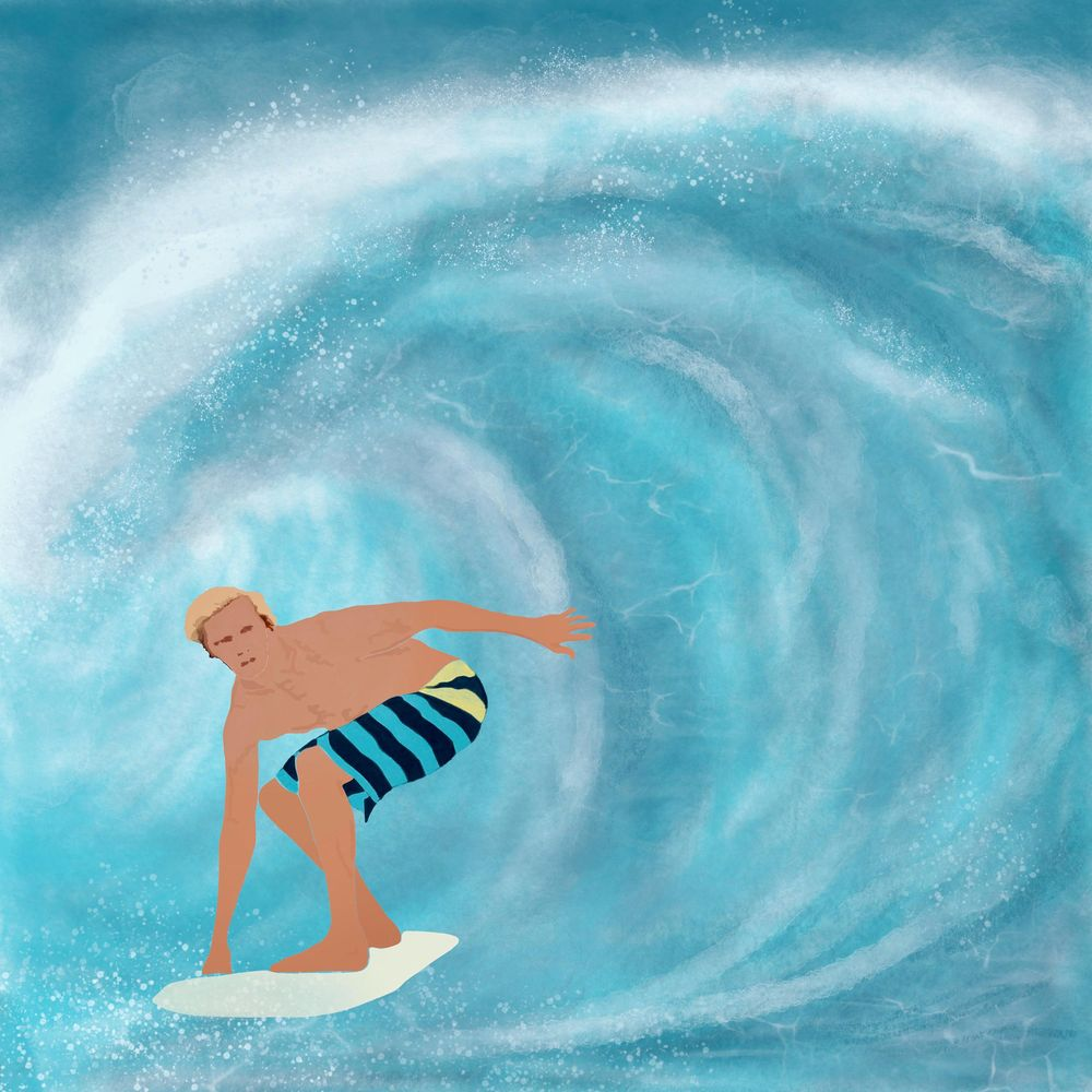 Surfer - image 1 - student project