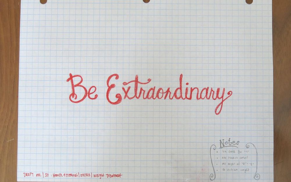 Be Extraordinary  - image 3 - student project