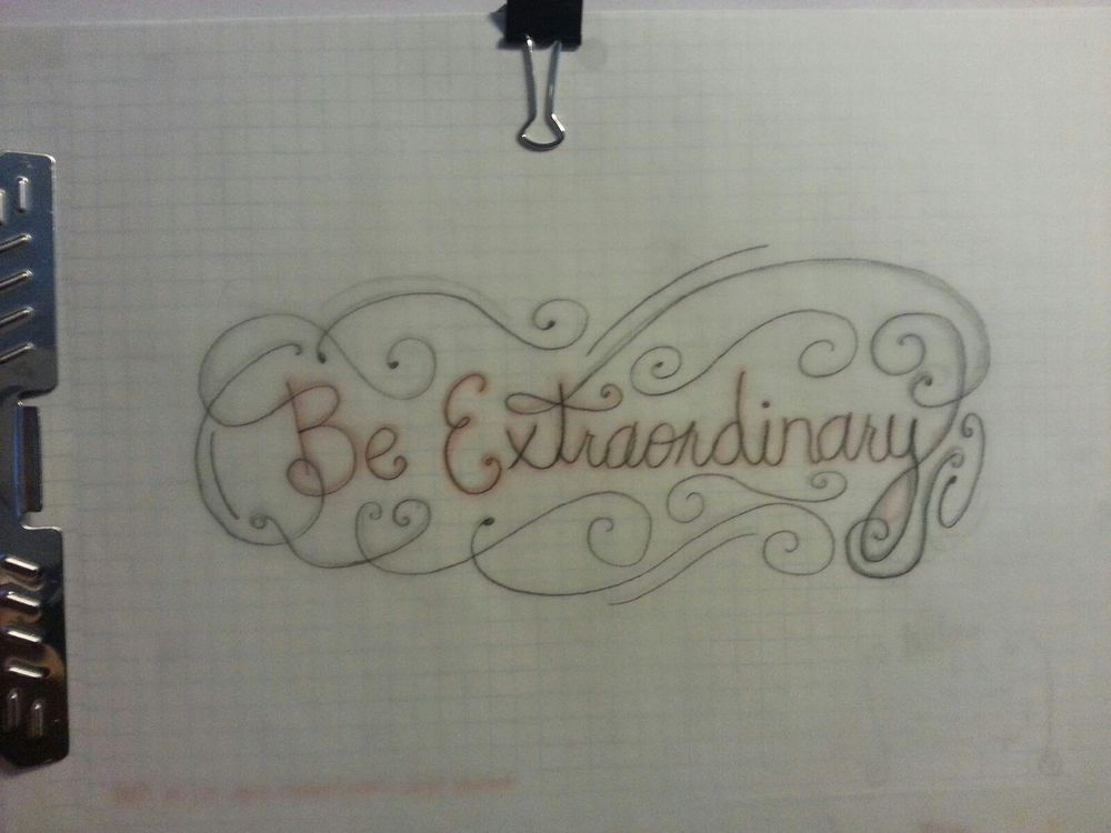 Be Extraordinary  - image 2 - student project