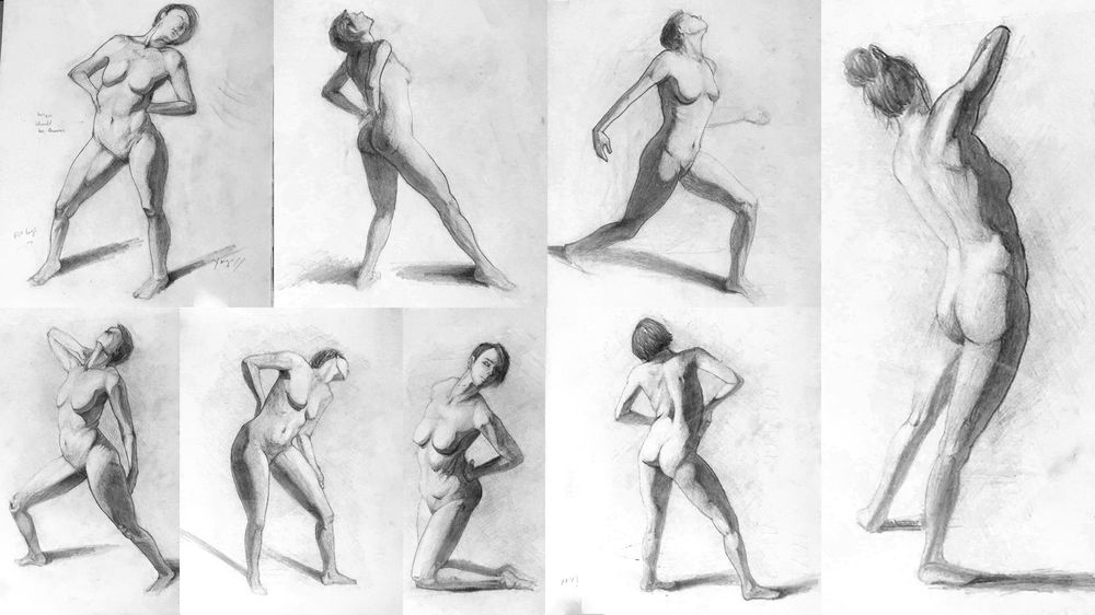 Figure Drawing Practice - Brent Eviston - image 4 - student project