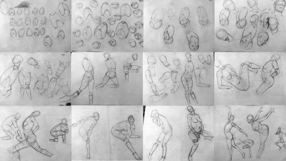 Figure Drawing Practice - Brent Eviston - image 3 - student project