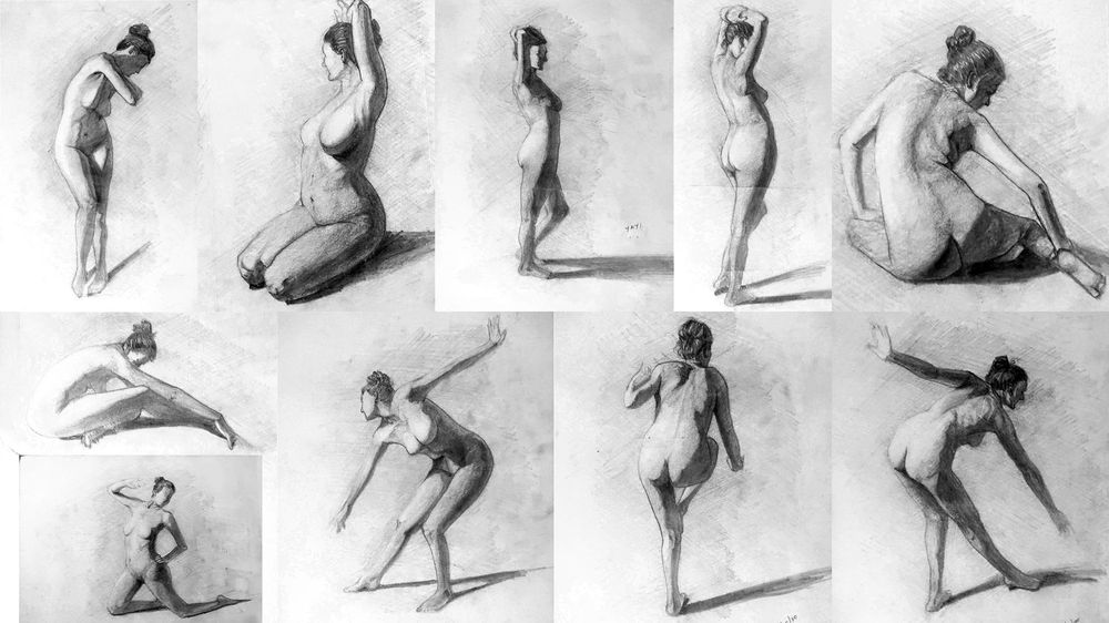 Figure Drawing Practice - Brent Eviston - image 5 - student project