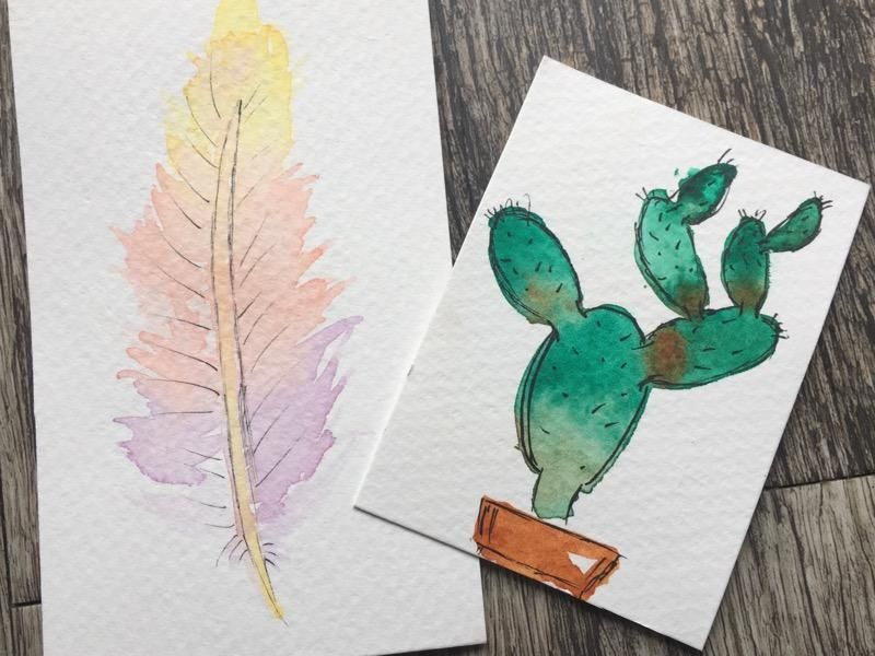 Watercolors Projects - image 1 - student project