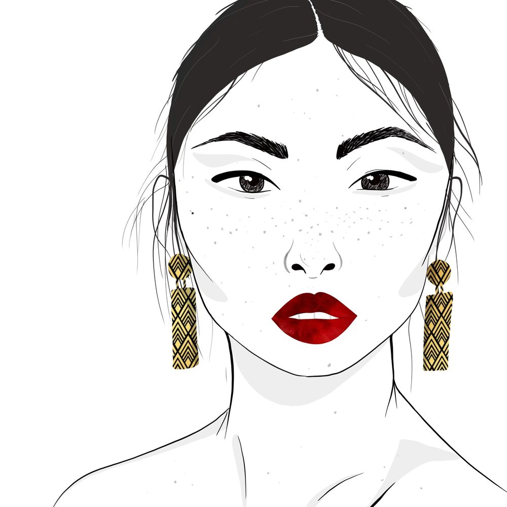 Minimalist Fashion Piece w/Jewellery - image 1 - student project