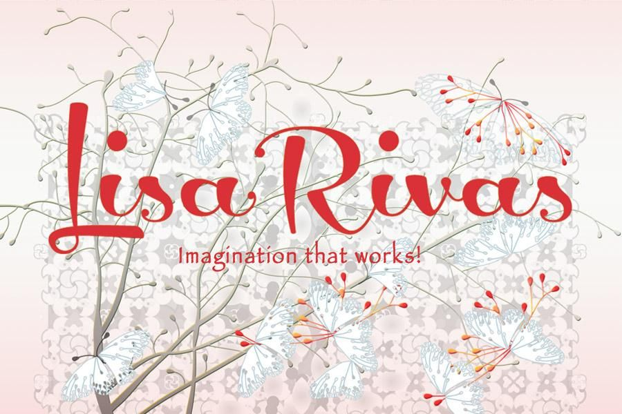 A branding label for Lisa Rivas - image 7 - student project