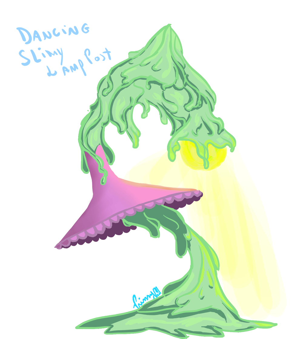 Postly - Dancing slimy lamp post - image 3 - student project