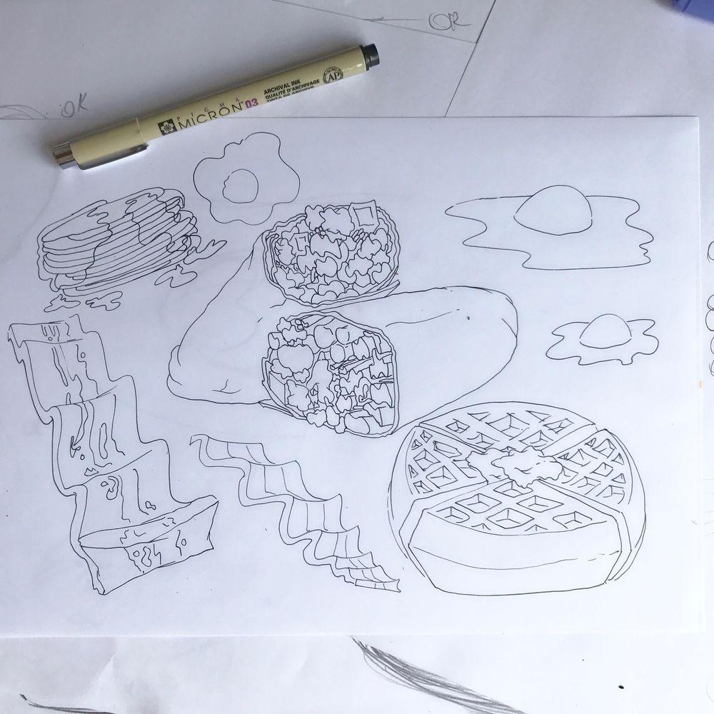 Breakfast - image 2 - student project