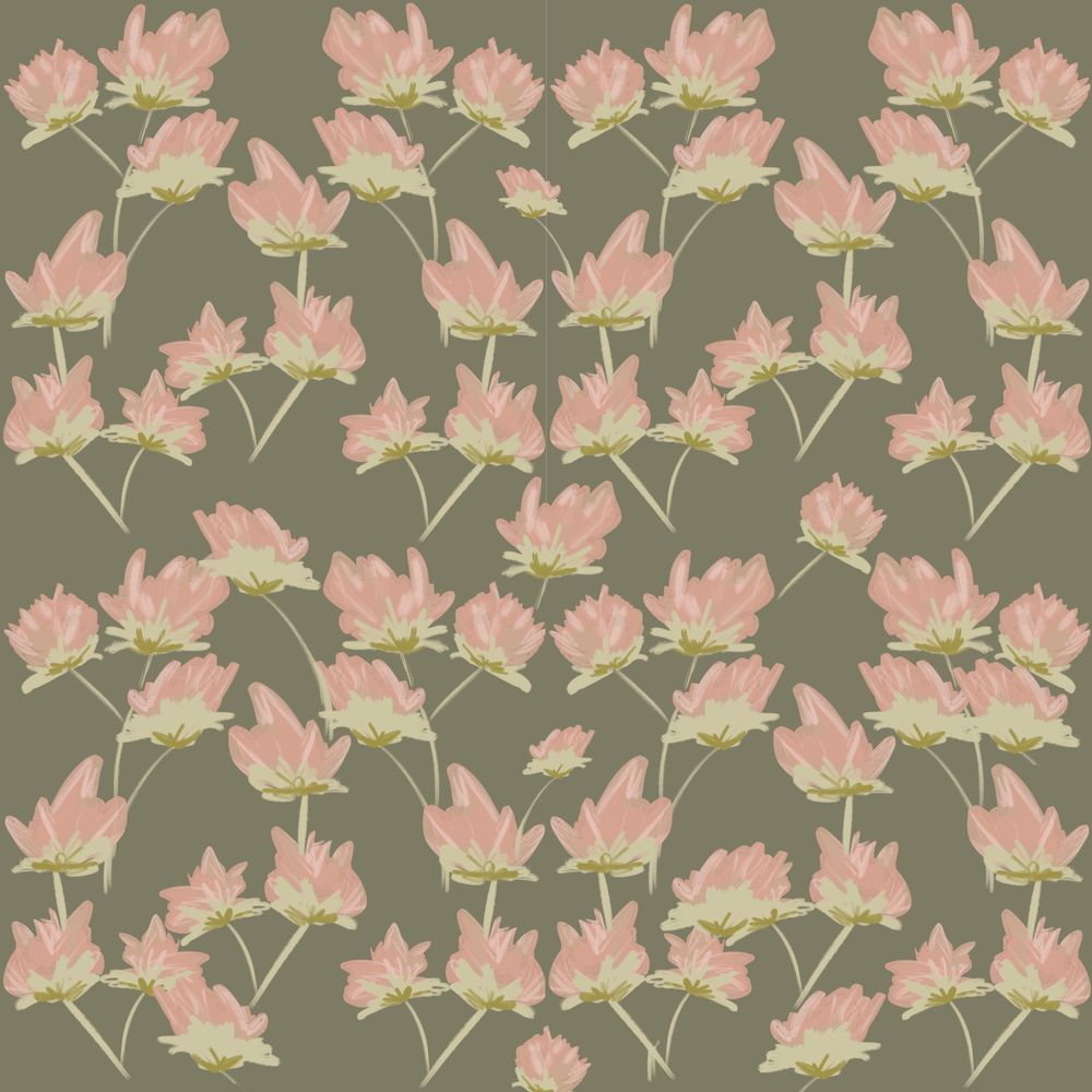 Repeat Floral Pattern using Procreate - image 1 - student project