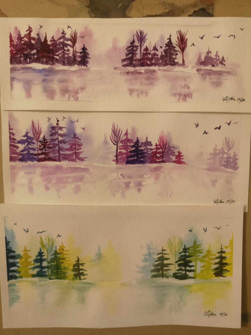 Trying to get better at pine trees - image 1 - student project