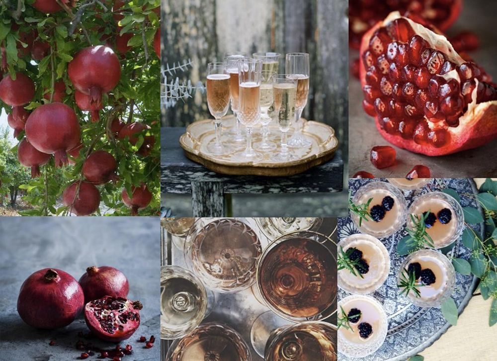 pomegranate mimosa - image 2 - student project