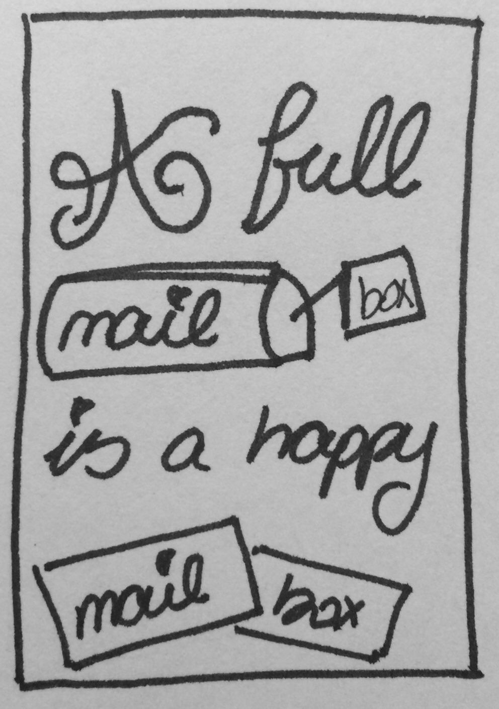 A Full Mailbox is a Happy Mailbox - image 1 - student project