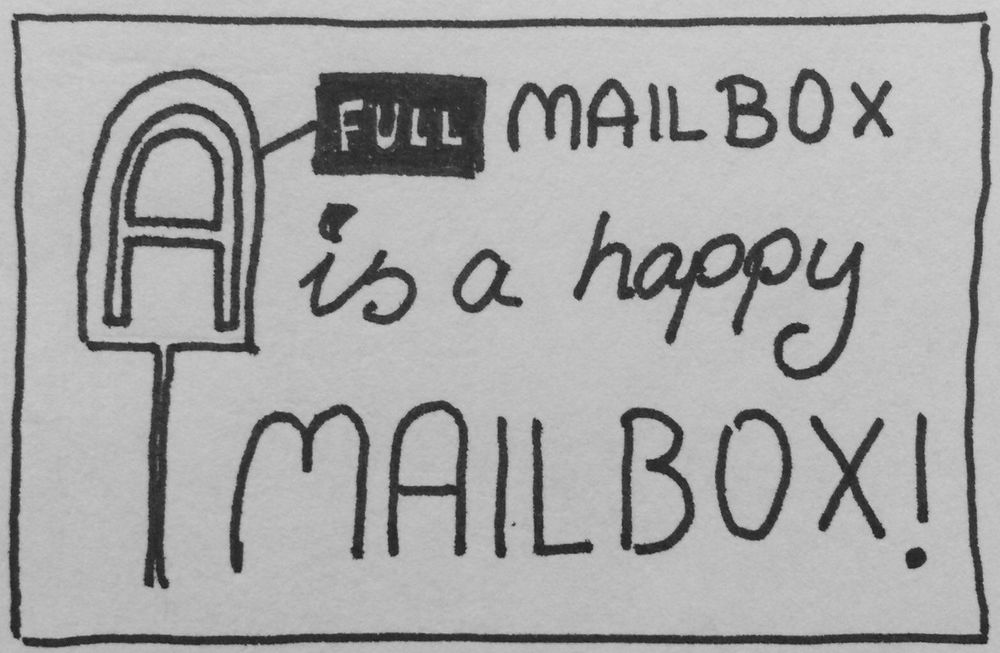 A Full Mailbox is a Happy Mailbox - image 2 - student project