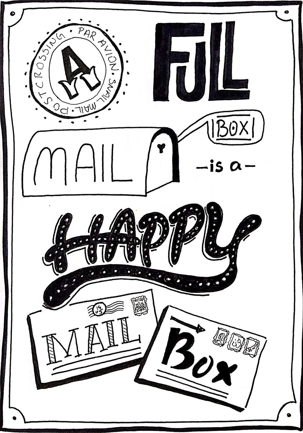 A Full Mailbox is a Happy Mailbox - image 5 - student project