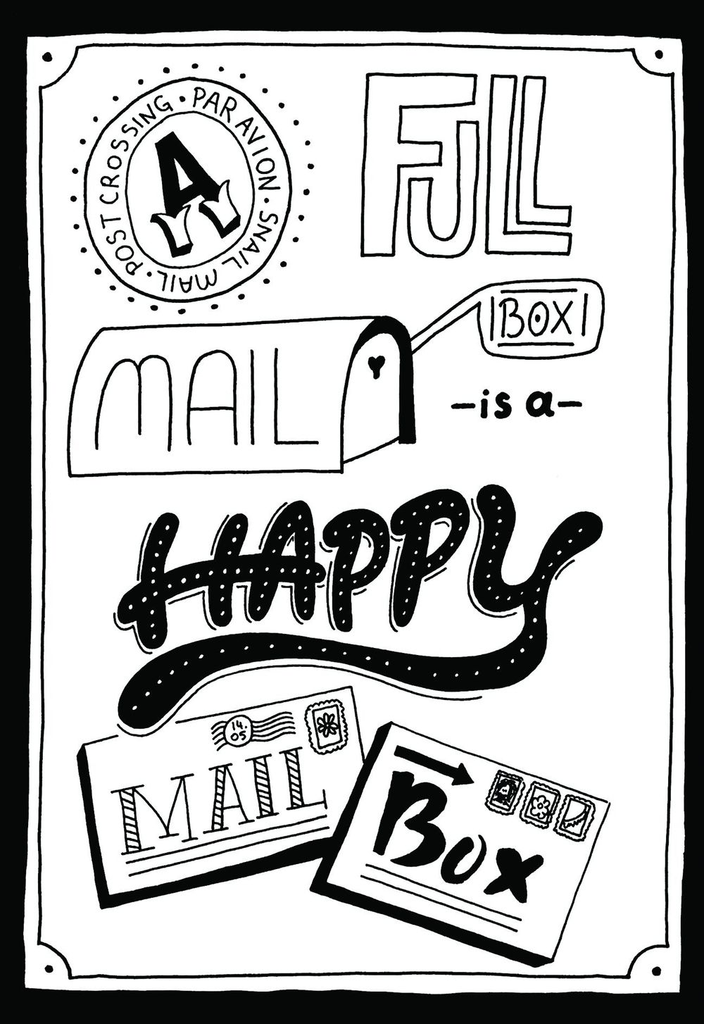 A Full Mailbox is a Happy Mailbox - image 6 - student project