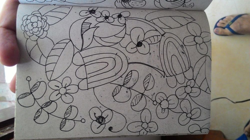 Some lovely flower doodles - image 1 - student project
