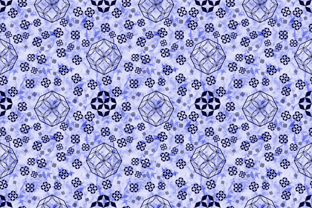 textured in gimp geometric pattern done in inkscape - image 1 - student project