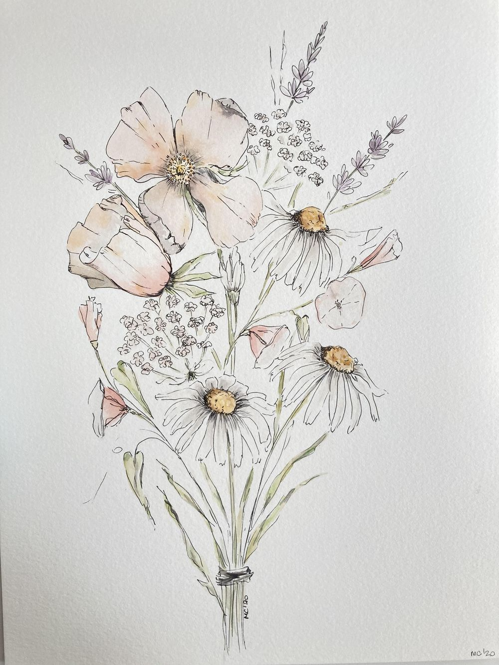 Wild bouquet - image 1 - student project