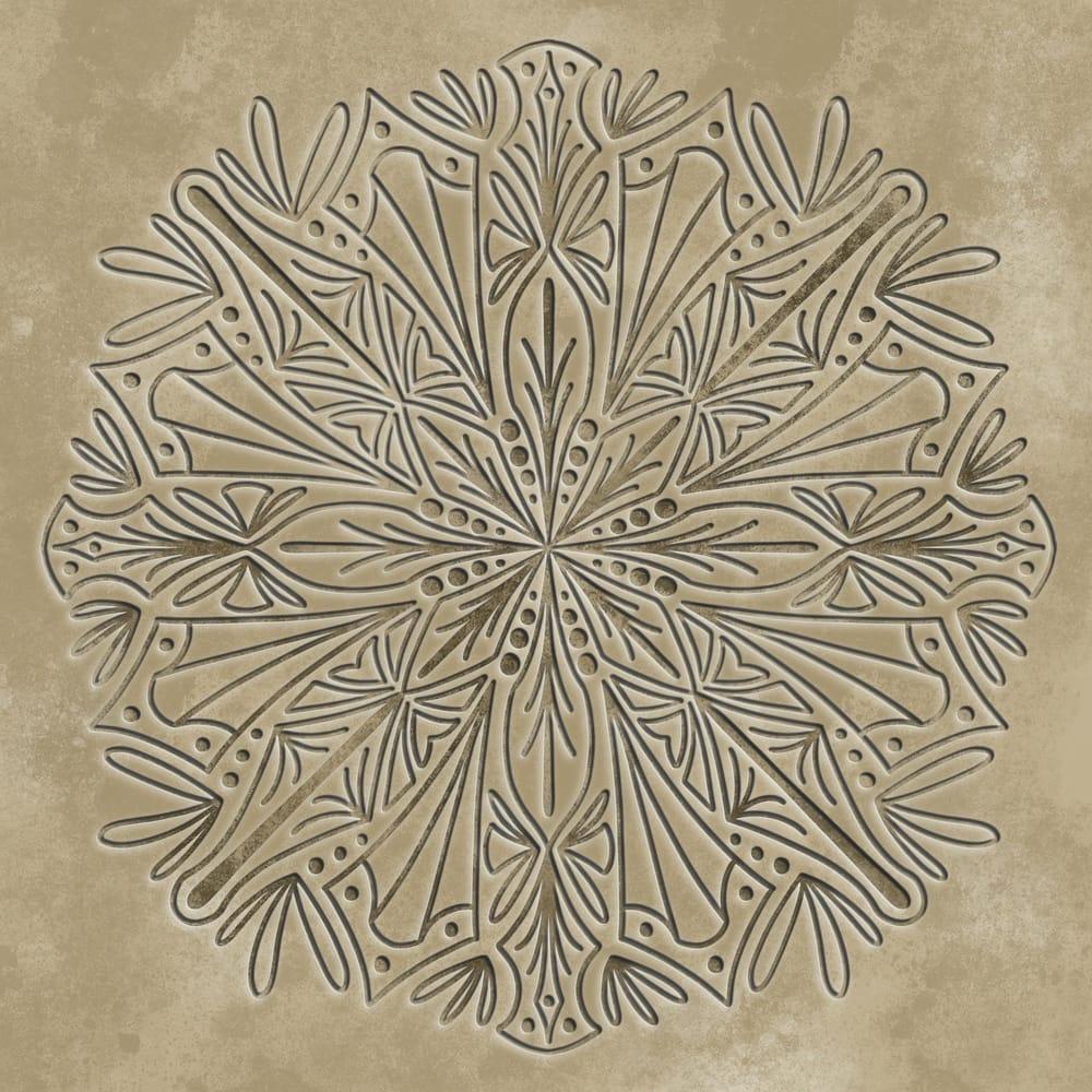 3D mandala - image 3 - student project