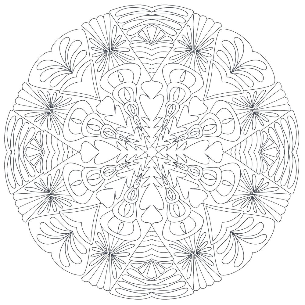 Mandala and blending modes - image 1 - student project