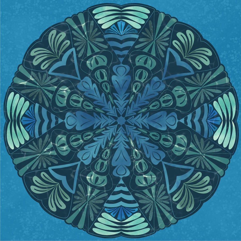 Mandala and blending modes - image 3 - student project