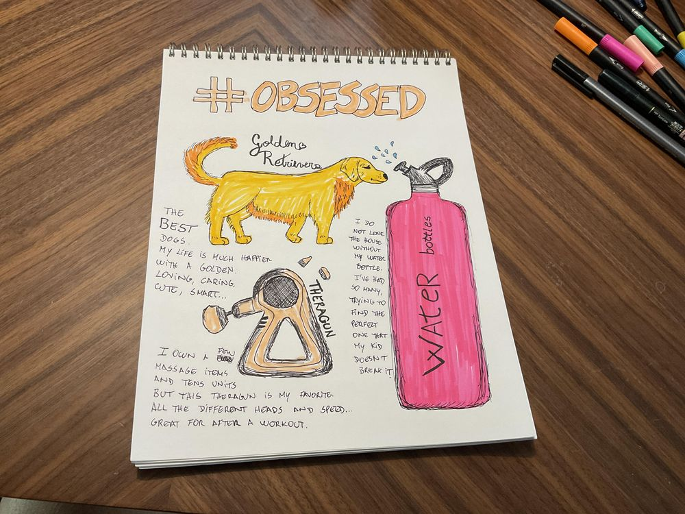 14 days of illustrated journal prompts - image 14 - student project