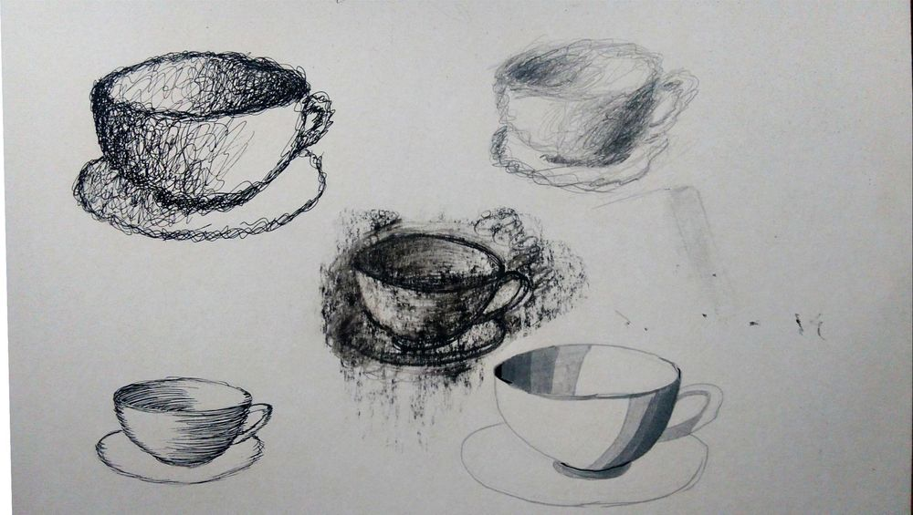 Five cups - image 1 - student project