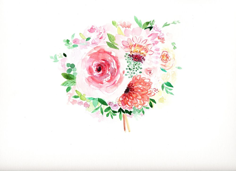 My Simple Wedding Bouquet - image 1 - student project