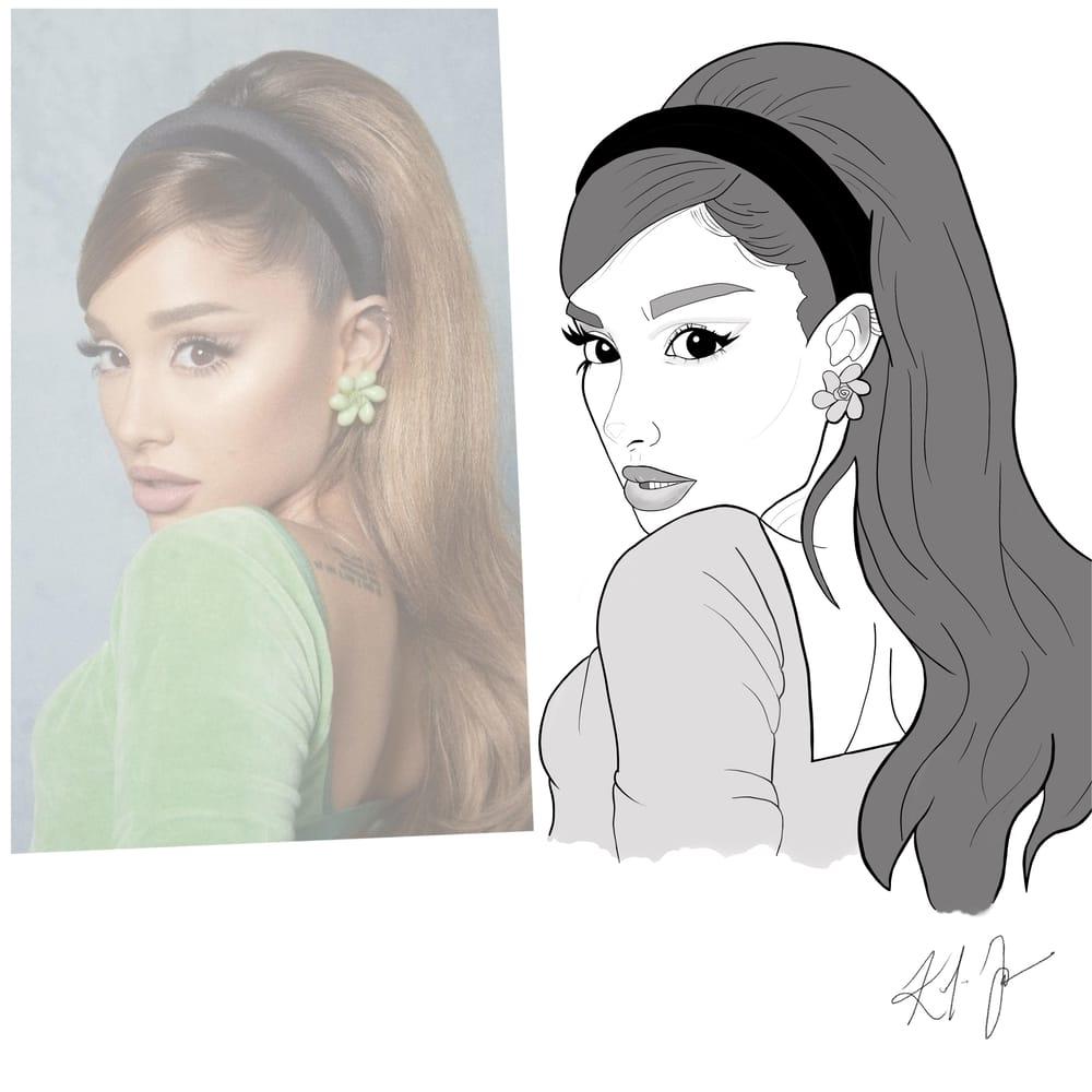 Ariana Grande Likeness - image 2 - student project