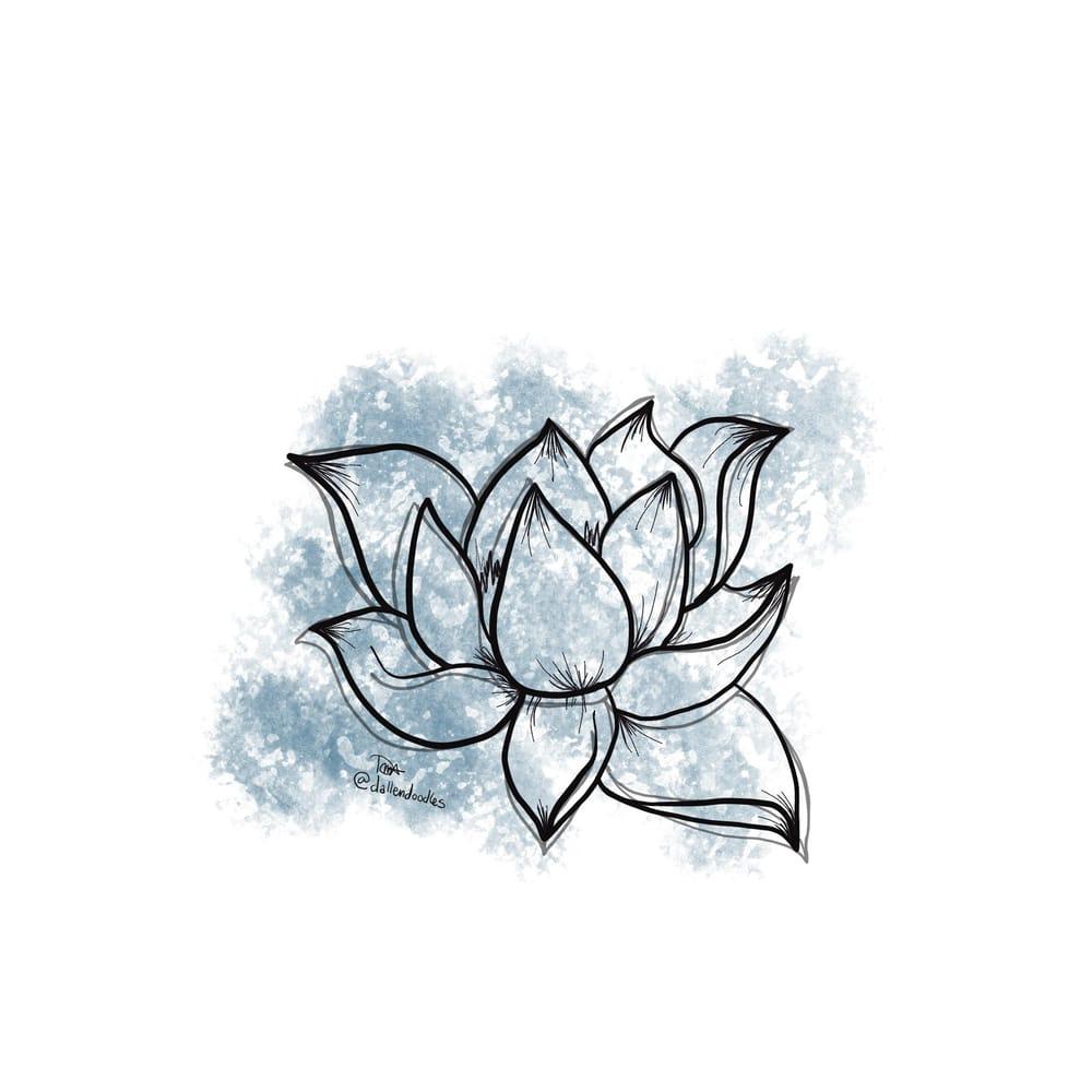 Blue Lotus Botanical - image 1 - student project